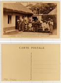 """view 17. Dahomey Cové, Groupe familial de la corporation des """"Artisans en cuivre."""" digital asset: 17. Dahomey Cové, Groupe familial de la corporation des """"Artisans en cuivre."""""""