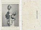 view Moeder en kind Dahomey, Golf van Guinea,, Afrika digital asset: Moeder en kind Dahomey, Golf van Guinea,, Afrika