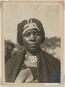 view Zulu woman, Pieter Maritzburg, Natal, South Africa digital asset: Zulu woman, Pieter Maritzburg, Natal, South Africa