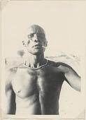 view Man smoking pipe, Uganda digital asset: Man smoking pipe, Uganda