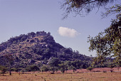view A view of Great Zimbabwe on top of a hill, Zimbabwe digital asset: A view of Great Zimbabwe on top of a hill, Zimbabwe