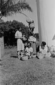view Alan Paton's Wife with Women, Natal, South Africa digital asset: Alan Paton's Wife with Women, Natal, South Africa
