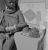view Ndebele Woman With Mud digital asset: Ndebele Woman With Mud
