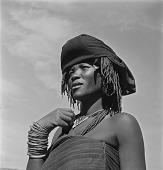 view Portrait of Xhosa Woman, Transkei digital asset: Portrait of Xhosa Woman, Transkei