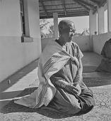 view The Modjadji kneeling on rug, Northern Transvaal (South Africa) digital asset: The Modjadji kneeling on rug, Northern Transvaal (South Africa)