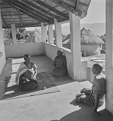 view The Modjadji talking with another woman and man, Northern Transvaal (South Africa) digital asset: The Modjadji talking with another woman and man, Northern Transvaal (South Africa)