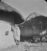 view Lovedu boy leaning against hut, Northern Transvaal (South Africa) digital asset: Lovedu boy leaning against hut, Northern Transvaal (South Africa)
