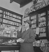 view Henry Vollam Morton (H. V. Morton) at Martin Chemist store, Somerset West (South Africa) digital asset: Henry Vollam Morton (H. V. Morton) at Martin Chemist store, Somerset West (South Africa)