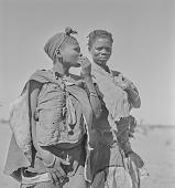 view San women, Kalahari Desert, Botswana digital asset: San women, Kalahari Desert, Botswana