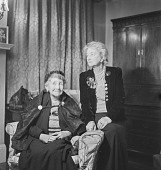 view Noel Coward's mother and friend, London (England) digital asset: Noel Coward's mother and friend, London (England)