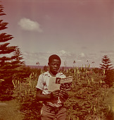 view Boy reading Cry, the Beloved Country, KwaZulu-Natal (South Africa) digital asset: Boy reading Cry, the Beloved Country, KwaZulu-Natal (South Africa)