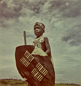 view Zulu child with weaponry, KwaZulu-Natal (South Africa) digital asset: Zulu child with weaponry, KwaZulu-Natal (South Africa)