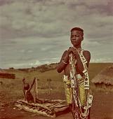 view Zulu young woman with beadwork, KwaZulu-Natal (South Africa) digital asset: Zulu young woman with beadwork, KwaZulu-Natal (South Africa)