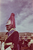 view Man in uniform awaiting the Royal Visit, Nhlangano (Swaziland) digital asset: Man in uniform awaiting the Royal Visit, Nhlangano (Swaziland)