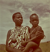 view Zulu woman and child, Natal (South Africa) digital asset: Zulu woman and child, Natal (South Africa)
