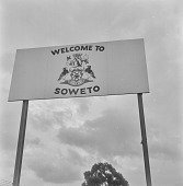 view Welcome to Soweto sign, Soweto (South Africa) digital asset: Welcome to Soweto sign, Soweto (South Africa)