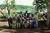 view Family of Paul Hamidu Mansaray, Kamagbembe village, Sierra Leone digital asset: Family of Paul Hamidu Mansaray, Kamagbembe village, Sierra Leone