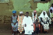 view Pa Salaifu Mansaray, his wives and granddaughter, Bafodea Town, Sierra Leone digital asset: Pa Salaifu Mansaray, his wives and granddaughter, Bafodea Town, Sierra Leone