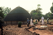view Traditional compound of the village chief, Koin, Guinea digital asset: Traditional compound of the village chief, Koin, Guinea