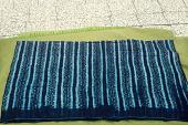 view Gara dyed native cloth, woven by Fulbe men, dyed by Maninka women, Koin, Guinea digital asset: Gara dyed native cloth, woven by Fulbe men, dyed by Maninka women, Koin, Guinea