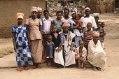 view Suma Mannio Mansaray and his family, Bafodea Town, Sierra Leone digital asset: Suma Mannio Mansaray and his family, Bafodea Town, Sierra Leone