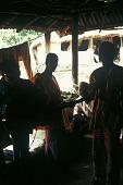 view Mandingo musicians playing guitars with battery amplifications, Sirekude Village, Sierra Leone digital asset: Mandingo musicians playing guitars with battery amplifications, Sirekude Village, Sierra Leone