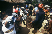 view Secular Limba musical ensemble known as Poro, Sirekude Village, Sierra Leone digital asset: Secular Limba musical ensemble known as Poro, Sirekude Village, Sierra Leone