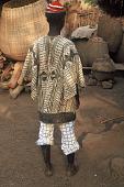 view Limba man wearing hu ronko shirt, Kamanda Village, Sierra Leone digital asset: Limba man wearing hu ronko shirt, Kamanda Village, Sierra Leone