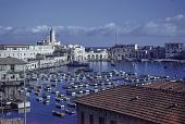 view William Hance collection digital asset: Harbor, Algiers, Algeria