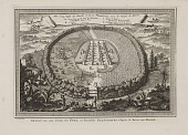 """view """"Vue d'Une Ville des Foulis et de Ses Plantations"""" digital asset: """"Vue d'Une Ville des Foulis et de Ses Plantations"""""""