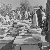 view Salt being sold ata market in Gao, Mali digital asset: Salt being sold ata market in Gao, Mali
