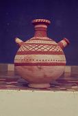 view A ceramic jar from Mopti, Mopti, Mali digital asset: A ceramic jar from Mopti, Mopti, Mali