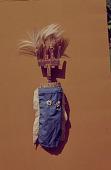 view A Bambara masquerade costume, Mali digital asset: A Bambara masquerade costume, Mali
