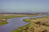 view The landscape and the Blue Nile River near Lake Tana, Ethiopia digital asset: The landscape and the Blue Nile River near Lake Tana, Ethiopia