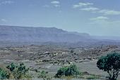 view Landscape along a footpath between Lalibela and Genata Maryam Medhane Alem Church, Ethiopia digital asset: Landscape along a footpath between Lalibela and Genata Maryam Medhane Alem Church, Ethiopia