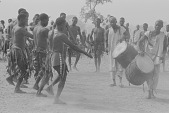 view Kamberi men dancing during a harvest celebration, Nigeria digital asset: Kamberi men dancing during a harvest celebration, Nigeria