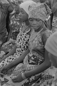 view A young Hausa woman talking at harvest celebration, Nigeria digital asset: A young Hausa woman talking at harvest celebration, Nigeria