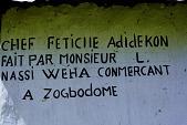 view Shrine House For Vodun, Road to Abomey, Dahomey, Republic of Benin digital asset: Shrine House For Vodun, Road to Abomey, Dahomey, Benin, Nigeria