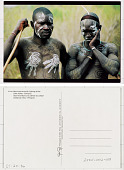 view Mursi warriors with fighting sticks Omo Valley, Ethiopia digital asset: Mursi warriors with fighting sticks Omo Valley, Ethiopia