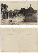 view Guinée Française Les cases d'une famille Conaigui digital asset: Guinée Française Les cases d'une famille Conaigui