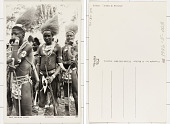 view East African Types Mambere Dancers digital asset: East African Types Mambere Dancers