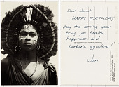 view Young Masai Moran at circumcision ceremony digital asset: Young Masai Moran at circumcision ceremony