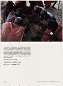 view In Kenya's Rift Valley, an attentive audience watches two Maasai elders playing mbao , Kenya, 1966 digital asset: In Kenya's Rift Valley, an attentive audience watches two Maasai elders playing mbao , Kenya, 1966