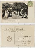 view Colonies Françaises; Sénégal-Soudan Marché de Djenné digital asset: Colonies Françaises; Sénégal-Soudan Marché de Djenné
