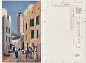 view Morocco MOROCCO - A street in Mogador digital asset: Morocco MOROCCO - A street in Mogador