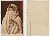 view Femme arabe voilée digital asset: Femme arabe voilée