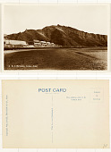 view B. I. Barracks Crater, Aden digital asset: B. I. Barracks Crater, Aden