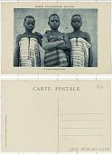 view Mission d'Ouagadougou (Hte-Volta) 2. Trois fillettes Mossis digital asset: Mission d'Ouagadougou (Hte-Volta) 2. Trois fillettes Mossis