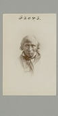 "view Walton B. Haydon photographs of Cree, Ojibwa, and Inuit peoples, circa 1883 digital asset: Cree man ""Dick Butterfly"""