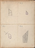 view MS 1592 Transcripts of Petroglyphs found in Queens County, Nova Scotia digital asset: Copies of petroglyphs found in Queens County, Nova Scotia